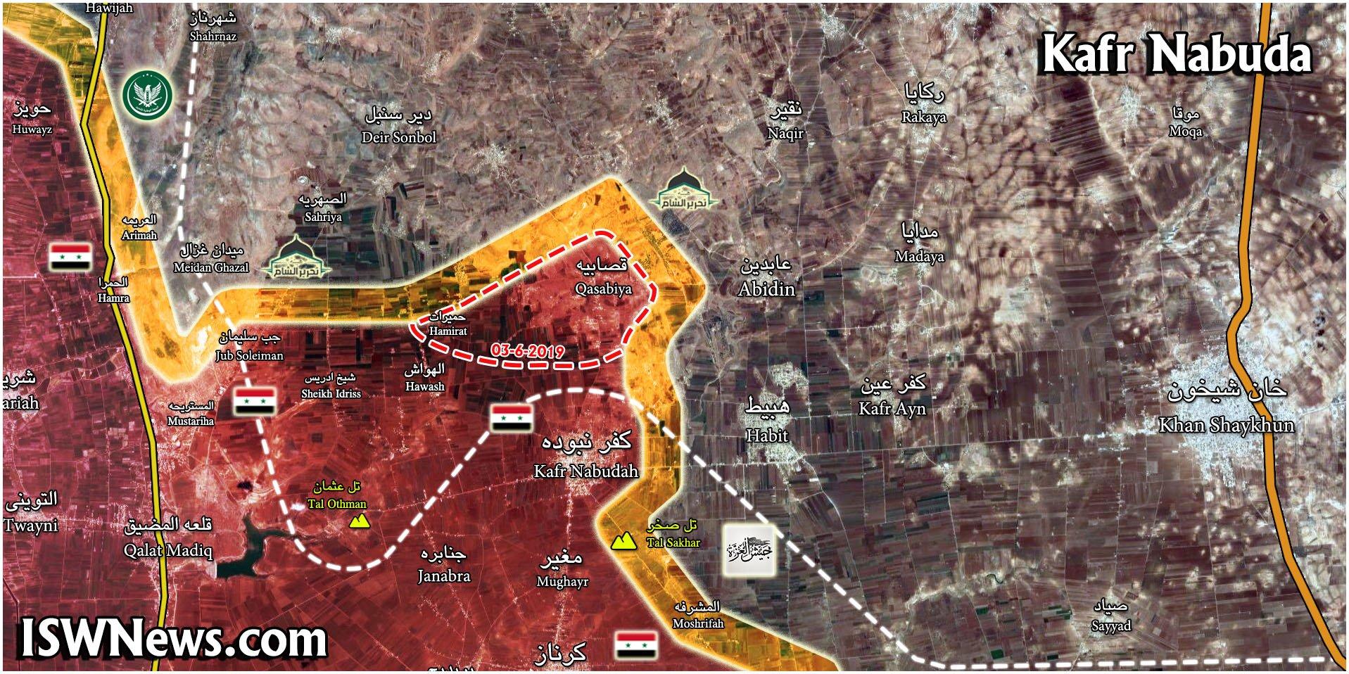 Коротко по Сирии. 03.06.2019