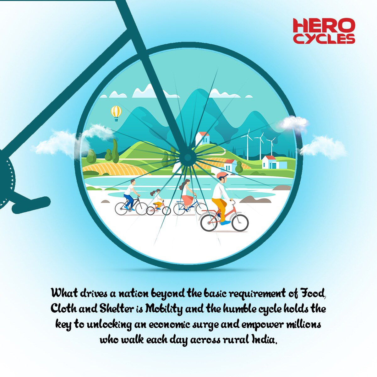 Cycle of Life| Hero Cycles|India's Best Brand of Cycles