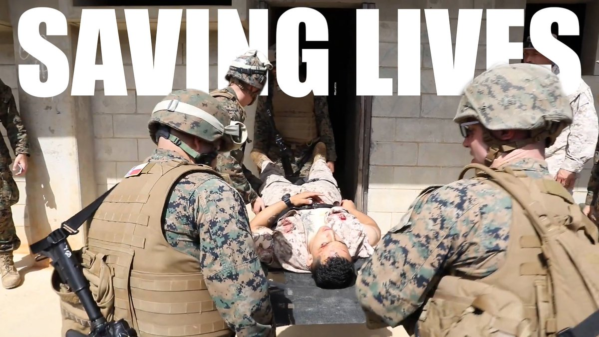 These corpsmen are pushing their capabilities to the limit to provide the most effective care possible.