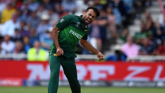 Pakistan National Cricket Team - Twitter Photo - OUT! Rahul c Babar