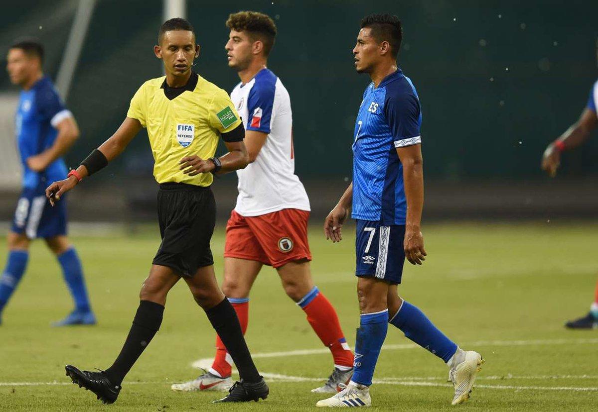 2-6-2019 - Amistoso El Salvador 1 Haiti 0. D8JWLG_WsAEZZCk