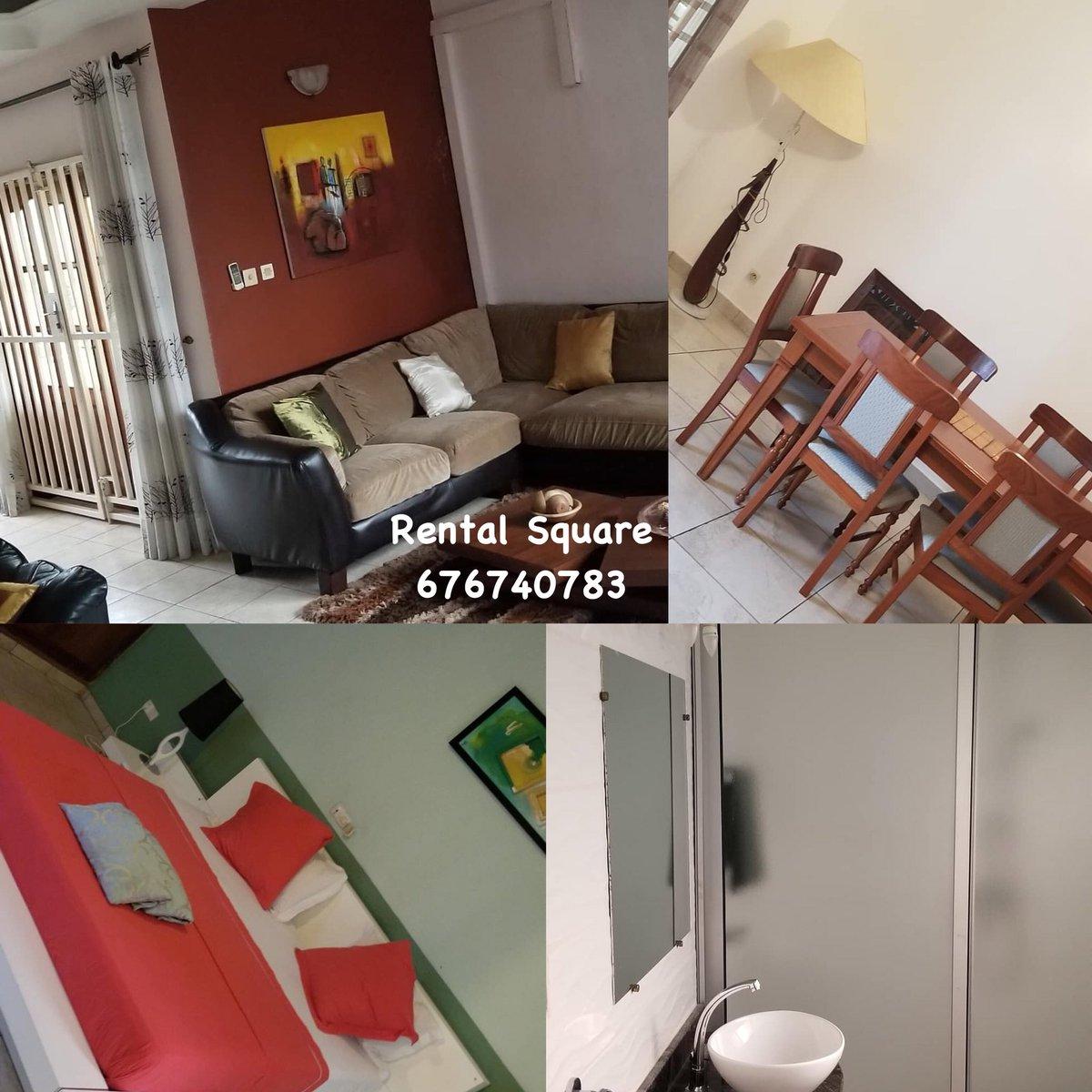 A louer ❗ 👉🏾 appartement meublé 3 chambres bonapriso 💰 80 000