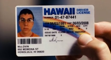 test Twitter Media - RT @Complex: Happy Birthday, McLovin! 🎊  The 38-year old Hawaiian organ donor. https://t.co/IMmPzTPE22