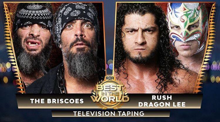 """ROH: Luchadores mexicanos en acción en """"Best in the World"""" 6"""