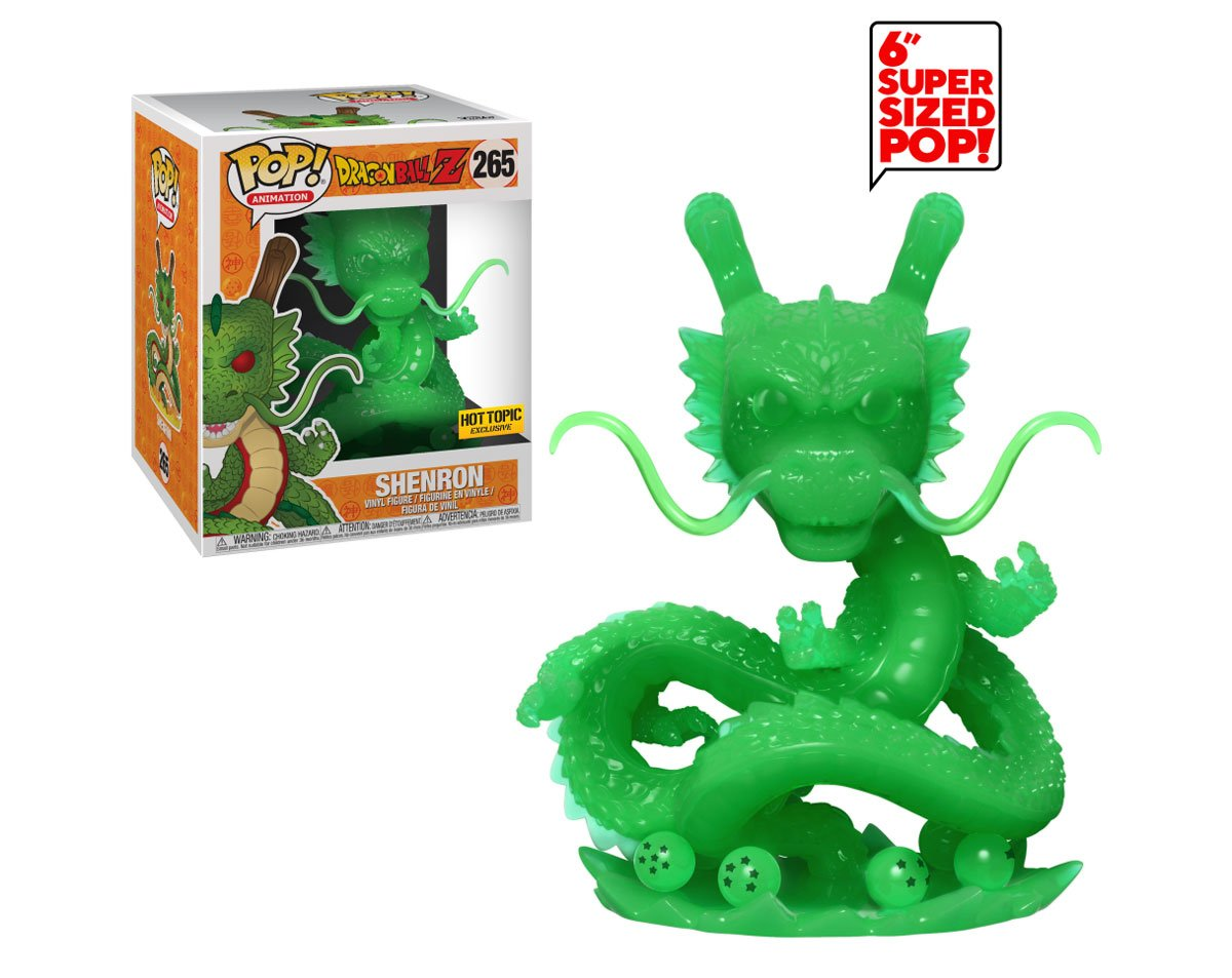 RT & follow @OriginalFunko for a chance to WIN a @HotTopic exclusive Super Sized Dragon Ball Z Shenron (Jade) Pop! #DBZ