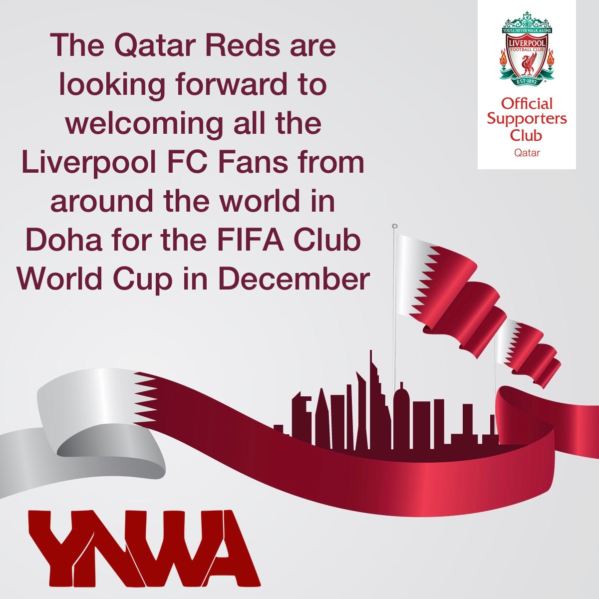 Qatar Reds | Official Liverpool FC Supporters Club's photo on Doha
