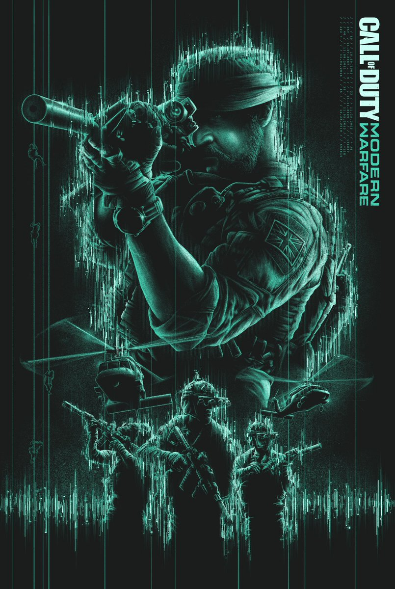Matty Ryan Tobin On Twitter Was A Pleasure To Work With Activision And Mondonews On A Very Special Poster For Call Of Duty Modern Warfare Exclusively Available Now With Gamestop Pre Orders Https T Co Y25xxoooux