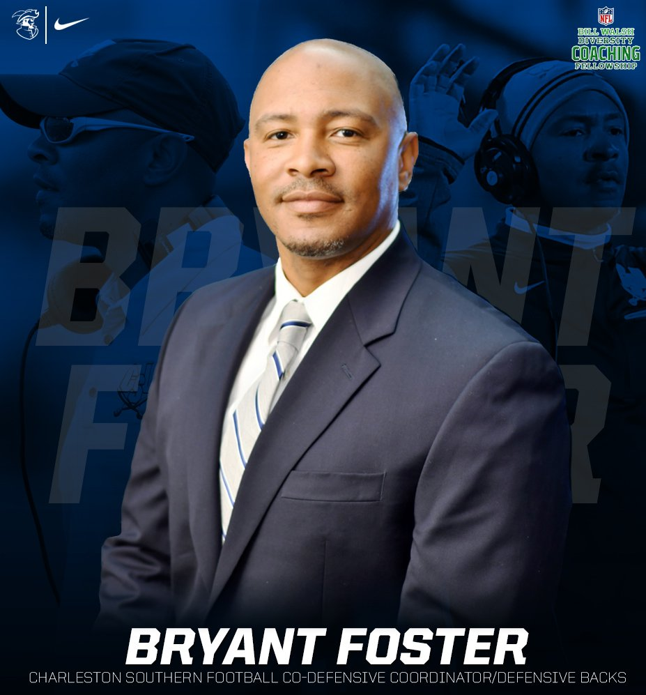 .@CSUFB's @CSUcoachFoster selected for the Bill Walsh NFL Diversity Coaching Fellowship - https://bit.ly/314NPGO  #JoinTheSiege #BucVi2i0n20