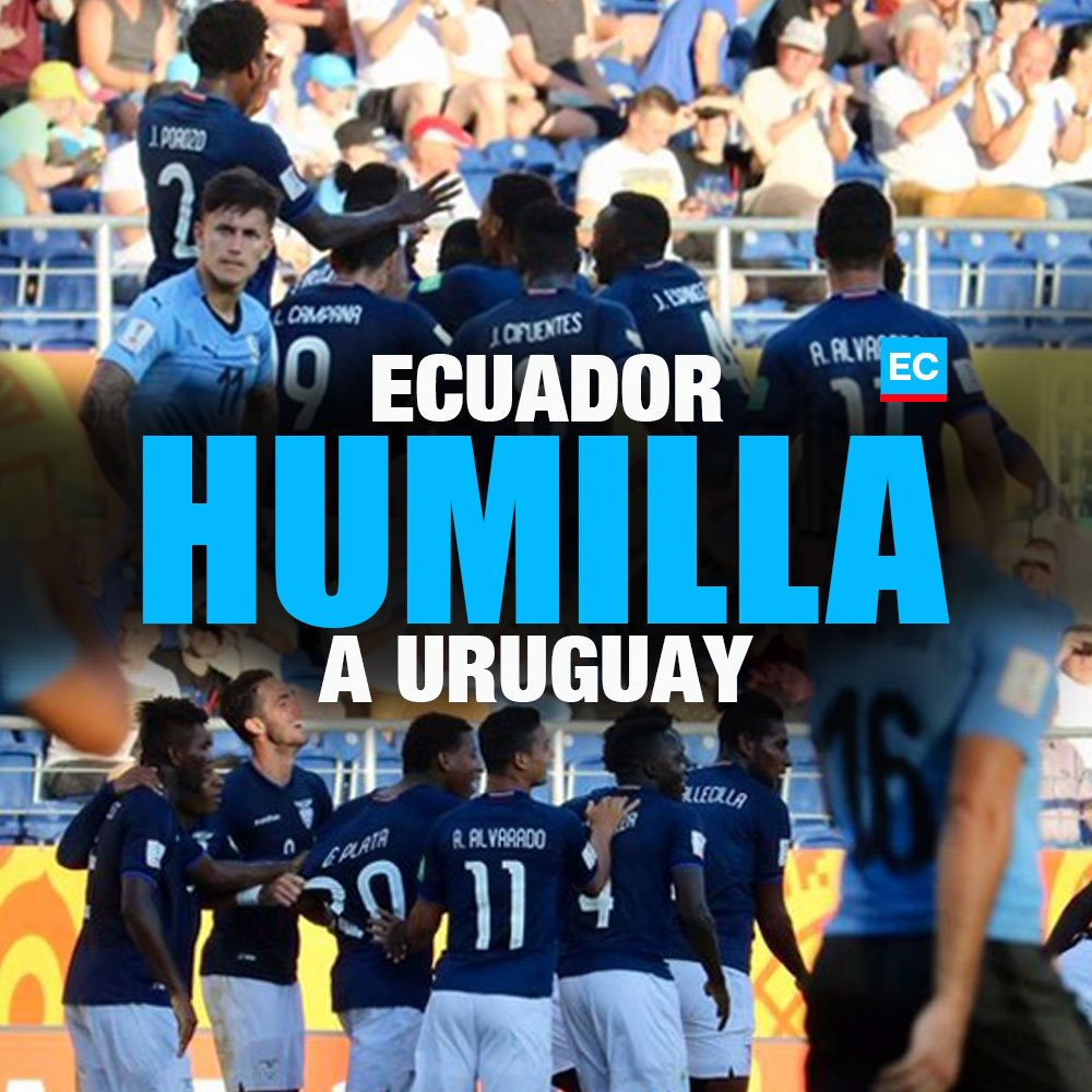 VIDEO Goles de Ecuador 🇪🇨 3 - Uruguay 🇺🇾 1