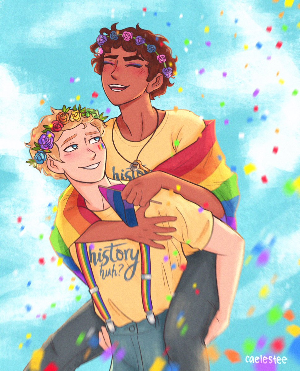 happy pride alex and henry day gay fucking rights 🎉 #rwrb #historyhuh