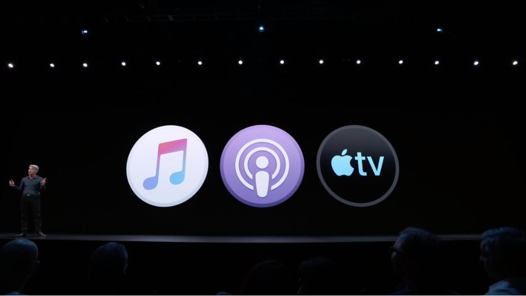 Out with iTunes... in with Apple Music, Podcasts and Apple TV