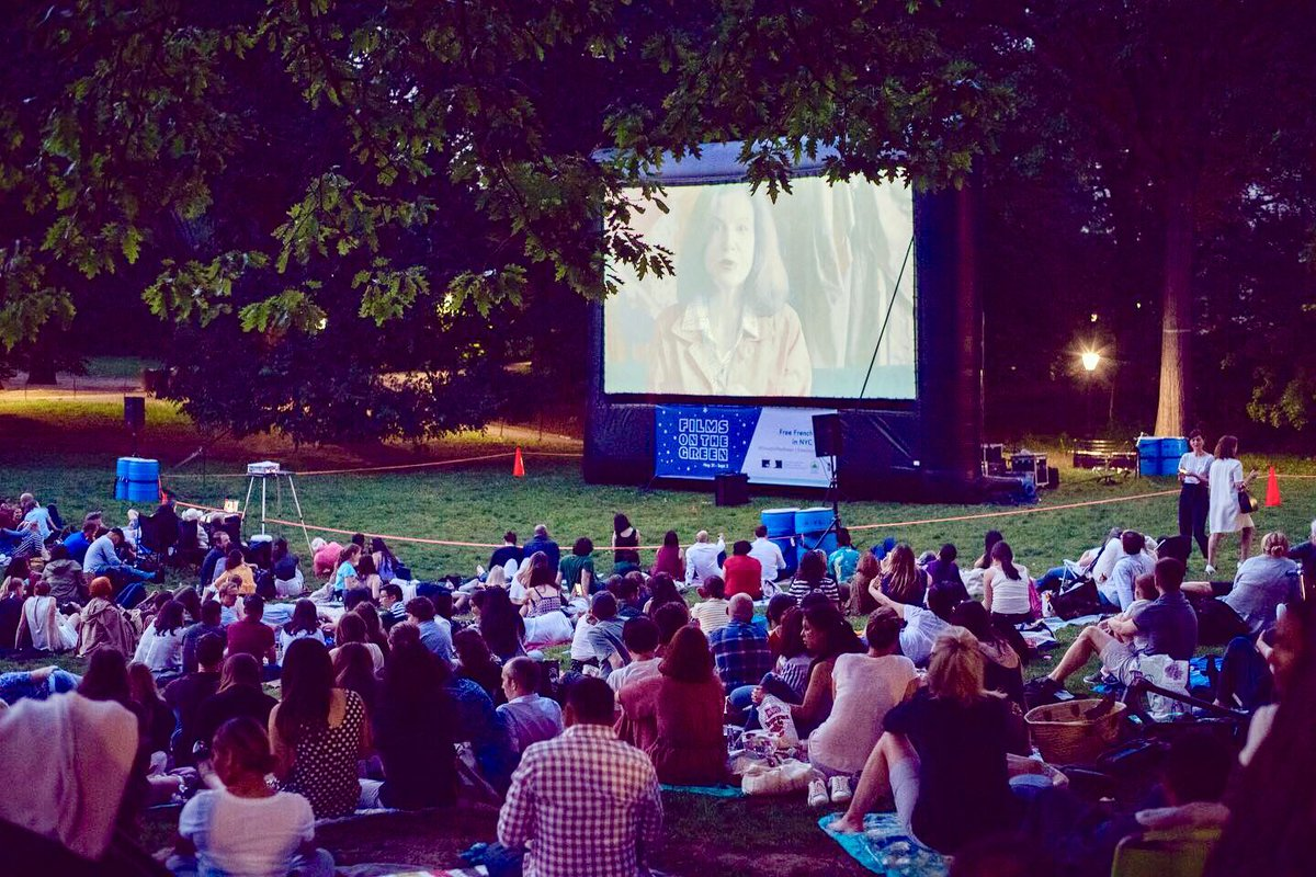 Image result for films on the green nyc
