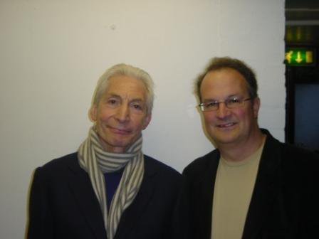 Belated happy birthday to Charlie Watts. Lovely bloke, great drummer and big fan...