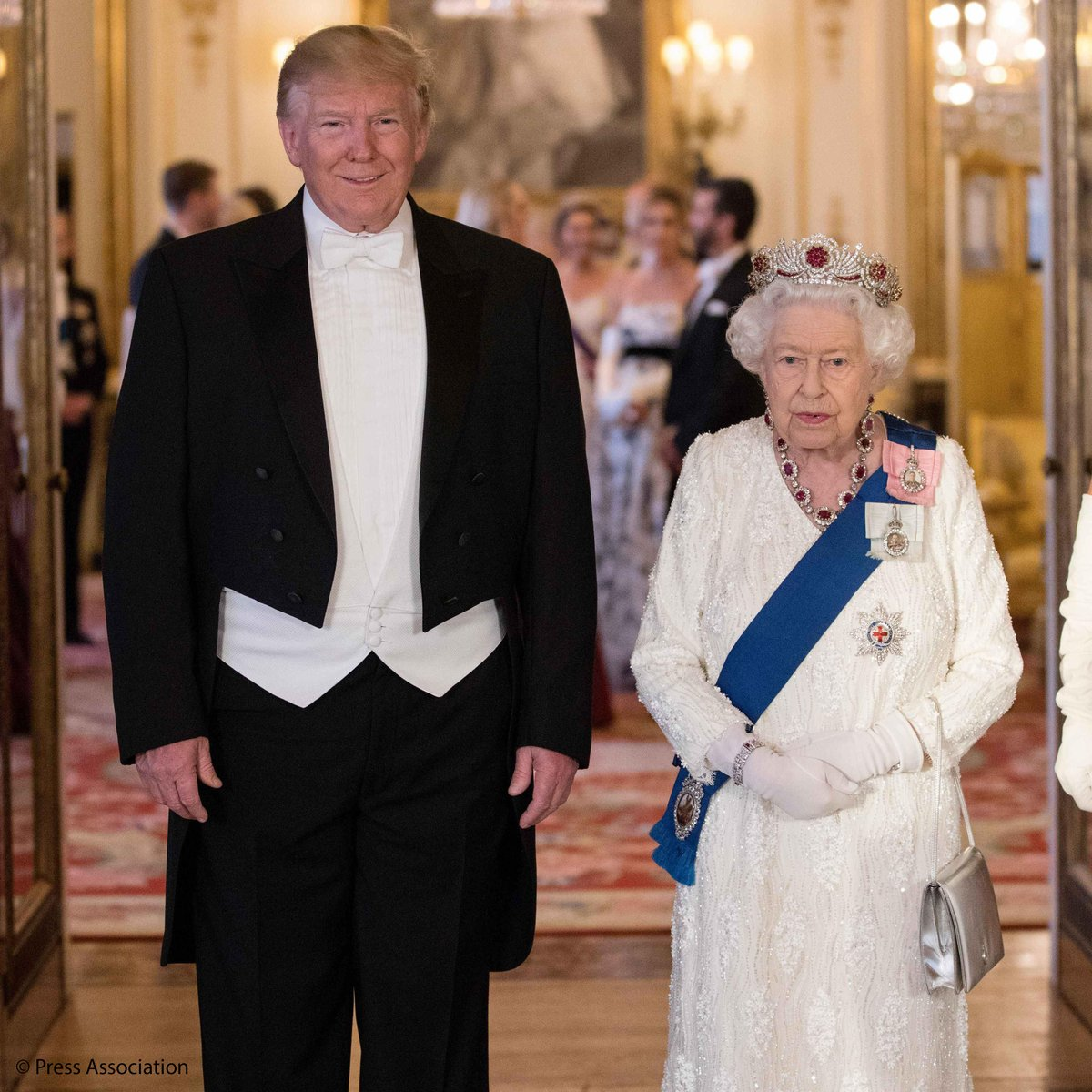 "The Royal Family on Twitter: ""'Mr President, as we look to the future, I am  confident that our common values and shared interests will continue to  unite us.' In her speech, The"