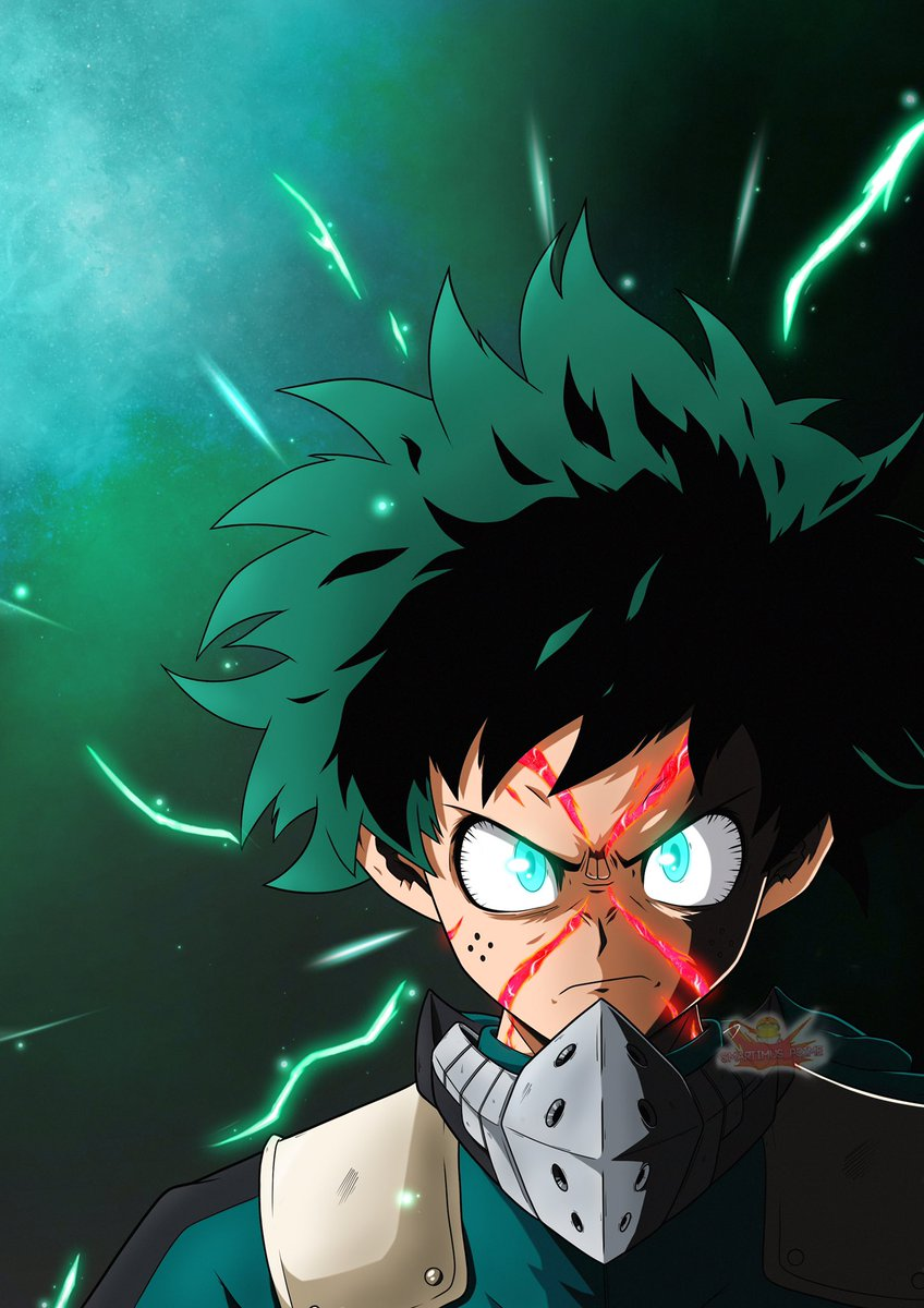 Finished: Deku LR style   Probably my favourite from this series so far, definitely going to be making them glow in future 😁  Please   Like 👍 Comment 👄 Retweet 🔁  @justinbriner