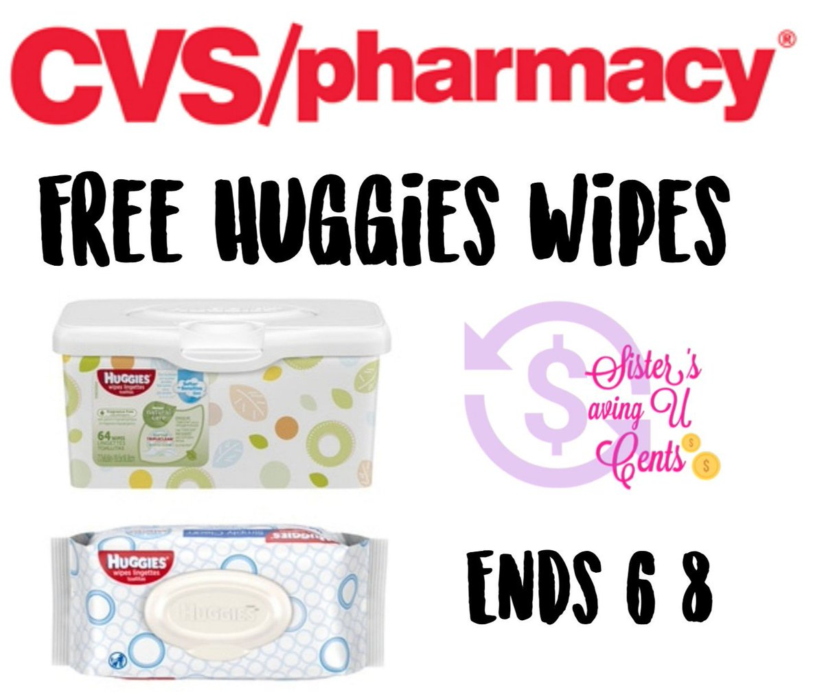 SistersSavingUCents: Free Huggies Baby Wipes At CVS!! https://www.sisterssavingucents.com/2019/06/free-huggies-baby-wipes-at-cvs.html?spref=tw … #cvs #cvsdeals #cvsfreebies