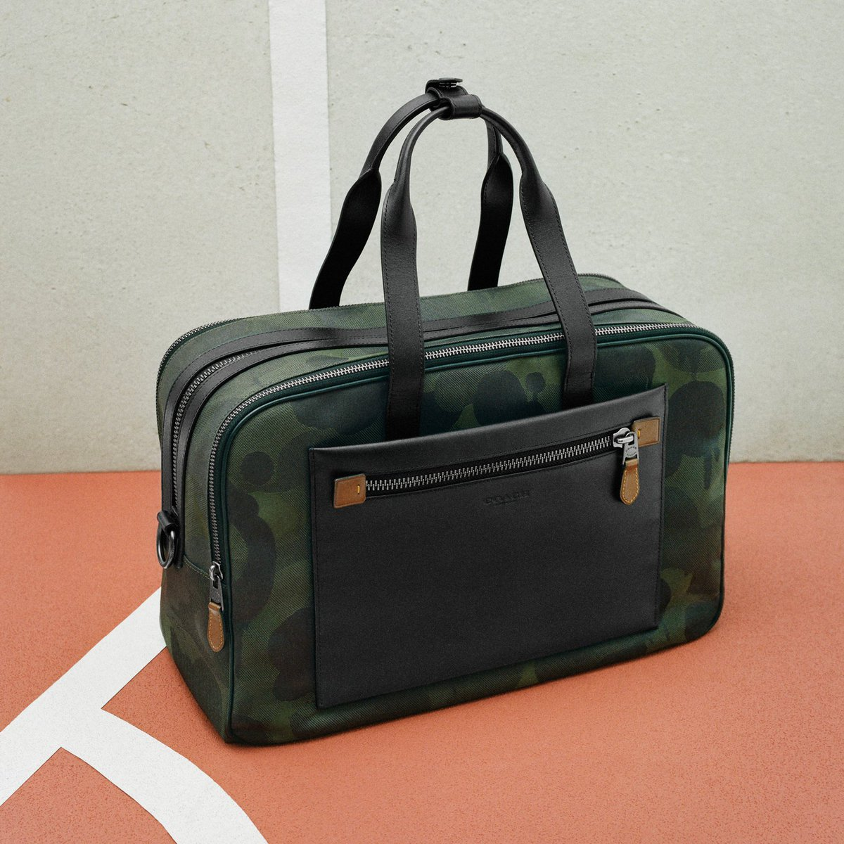 b453efac Get Dad a bag that's road-trip ready (like our Academy Travel Duffle.)  It'll make up for all those backseat singalongs. http://on.coach.com/TravelDuffle  ...
