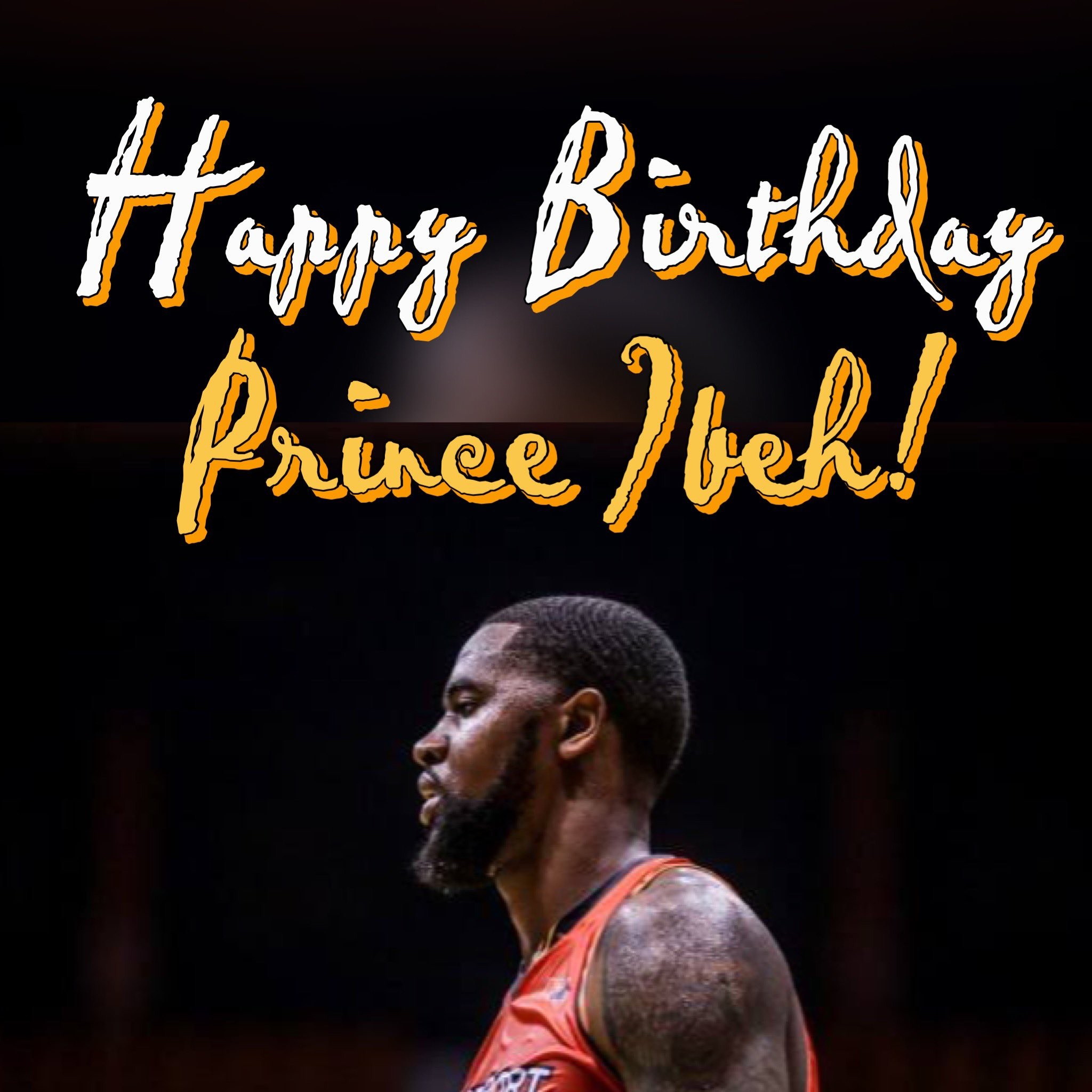 Late post: Happy Birthday to our hardworking import, Prince Ibeh!