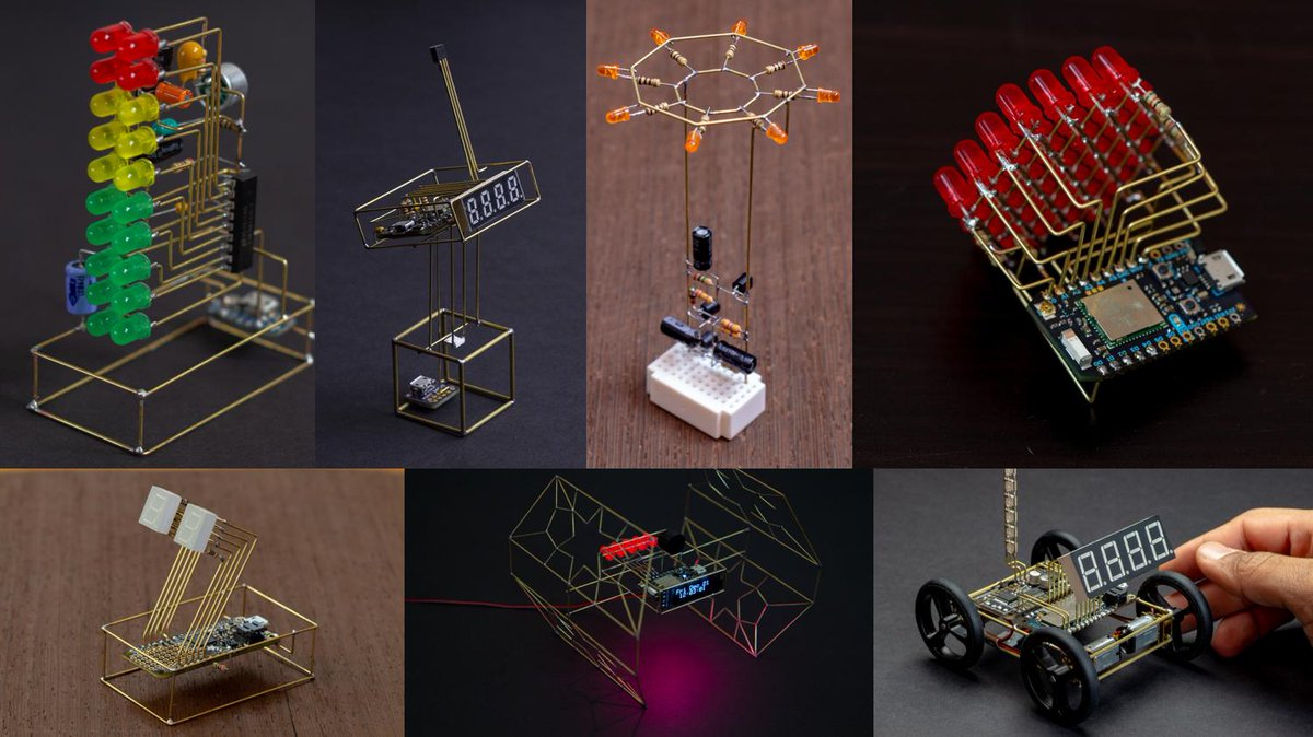 Excited to be speaking at #Eyeo2019 tomorrow morning at 10:00 am CST. Join me if you are attending! Ill be talking about building free-formed circuit sculptures!