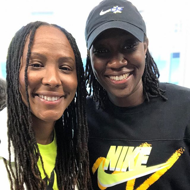 #Queens, NY in the building👊🏾. Words can't express how proud I am of this woman, just dynamic off and on the court!!! She's one I always brag on. Keep making great look easy @tina31charles 👏🏾. Repping @ctkwbb #wnba #nyliberty #ctk http://bit.ly/2Kryz0T