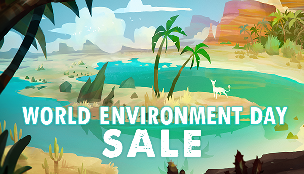 The World Environment Day Steam sale is live! It's so wonderful seeing all these nature inspired games together like this for the first time. I really feel this is a thing now. https://store.steampowered.com/sale/worldenvironmentday…