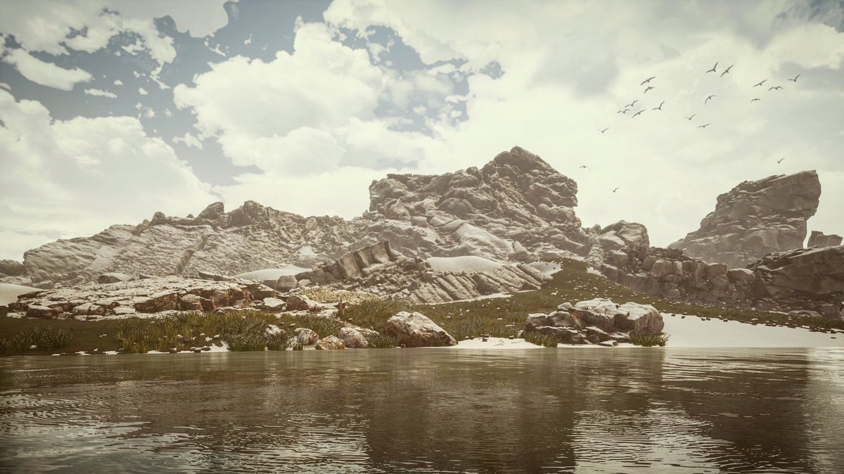 My landscape created just for fun Render with Twinmotion