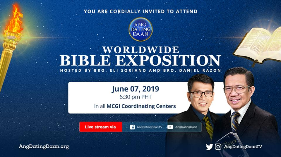 ang dating daan bible exposition march 2019