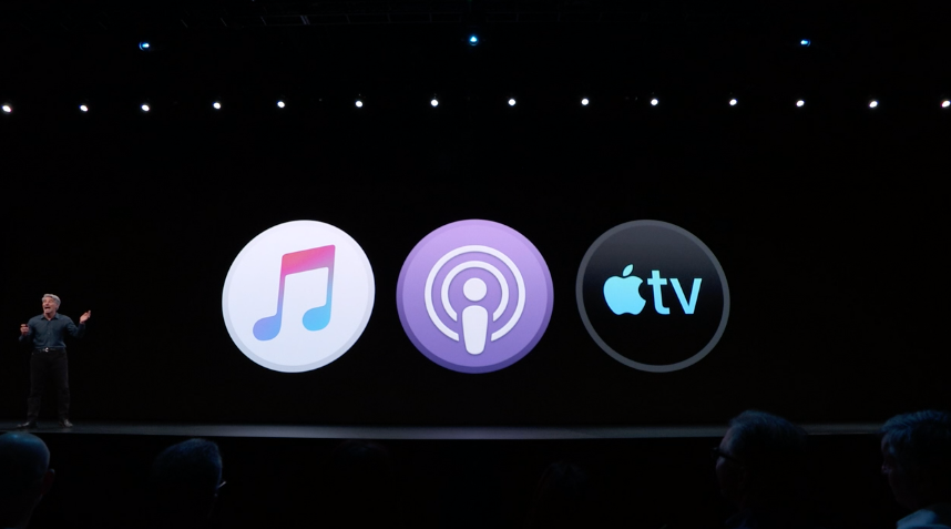 iTunes wasn't killed, it was just split up