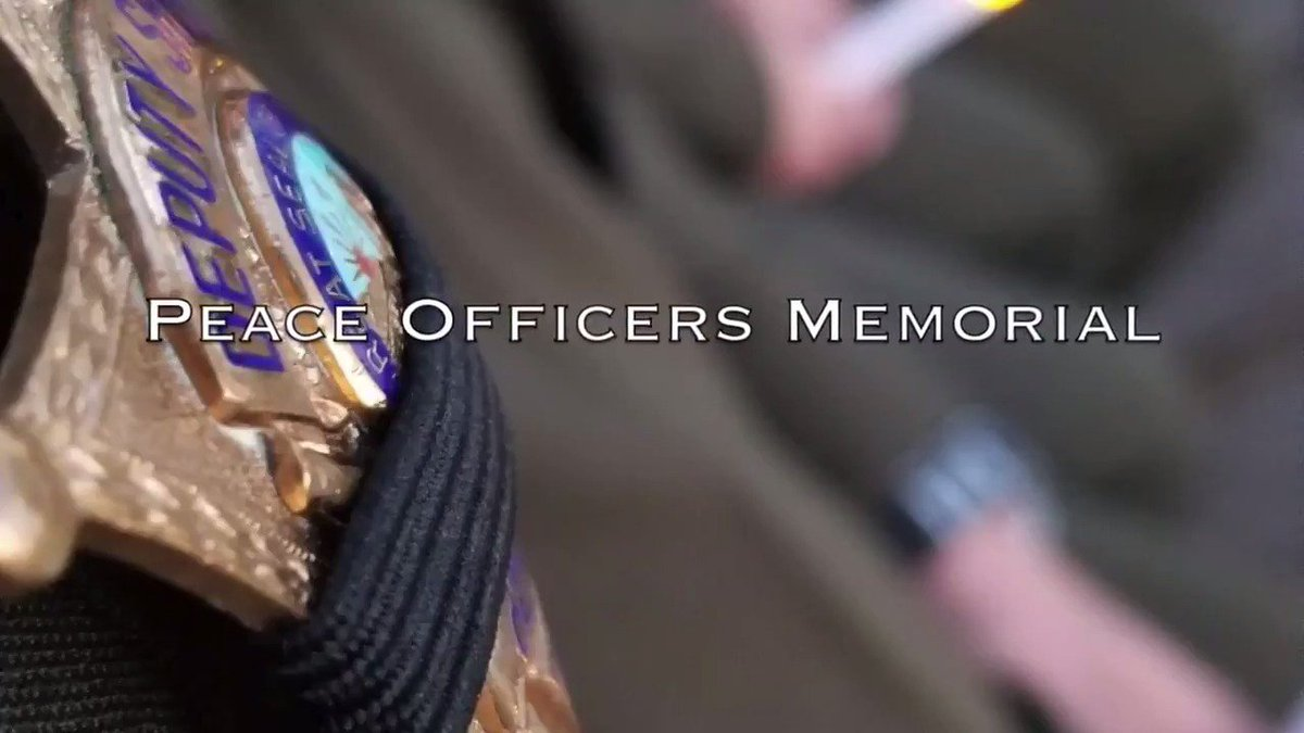 Last week we honored those who gave the ultimate sacrifice at our Peace Officer Memorial. Thank you for your service, you will never be forgotten. 🚔🕯️💙