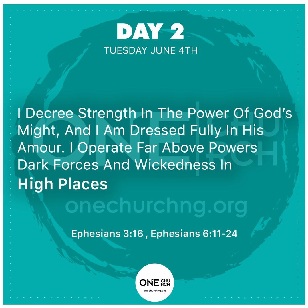 Morning Declarations And Decrees