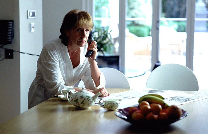 Happy birthday Penelope Wilton, whom I first saw in the captivating Match Point.