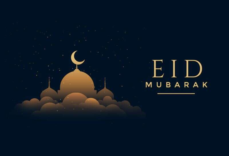 Happy Eid-Mubarak brothers and sister.