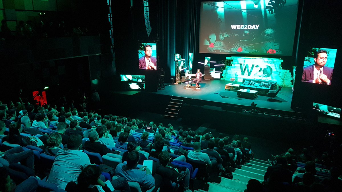 D-day. With 60 partners, 238 speakers, 162 talks and conferences, 8,000+ attendees, networking, parties, and a focus on positive impact, #web2day is finally here :) #11thedition #goodthingslast #Nantes<br>http://pic.twitter.com/79KgGLhhpj