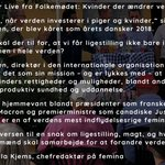 Image for the Tweet beginning: Kvinder, der ændrer verden! #AllerTalk