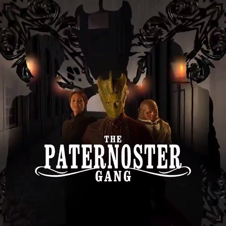 COMPETITION! We've got three signed copies of The Paternoster Gang to give away! Simply follow @bigfinish and QT (retweet with comment) this video, using the hashtag #STRAX in your tweet, for a chance to win.
