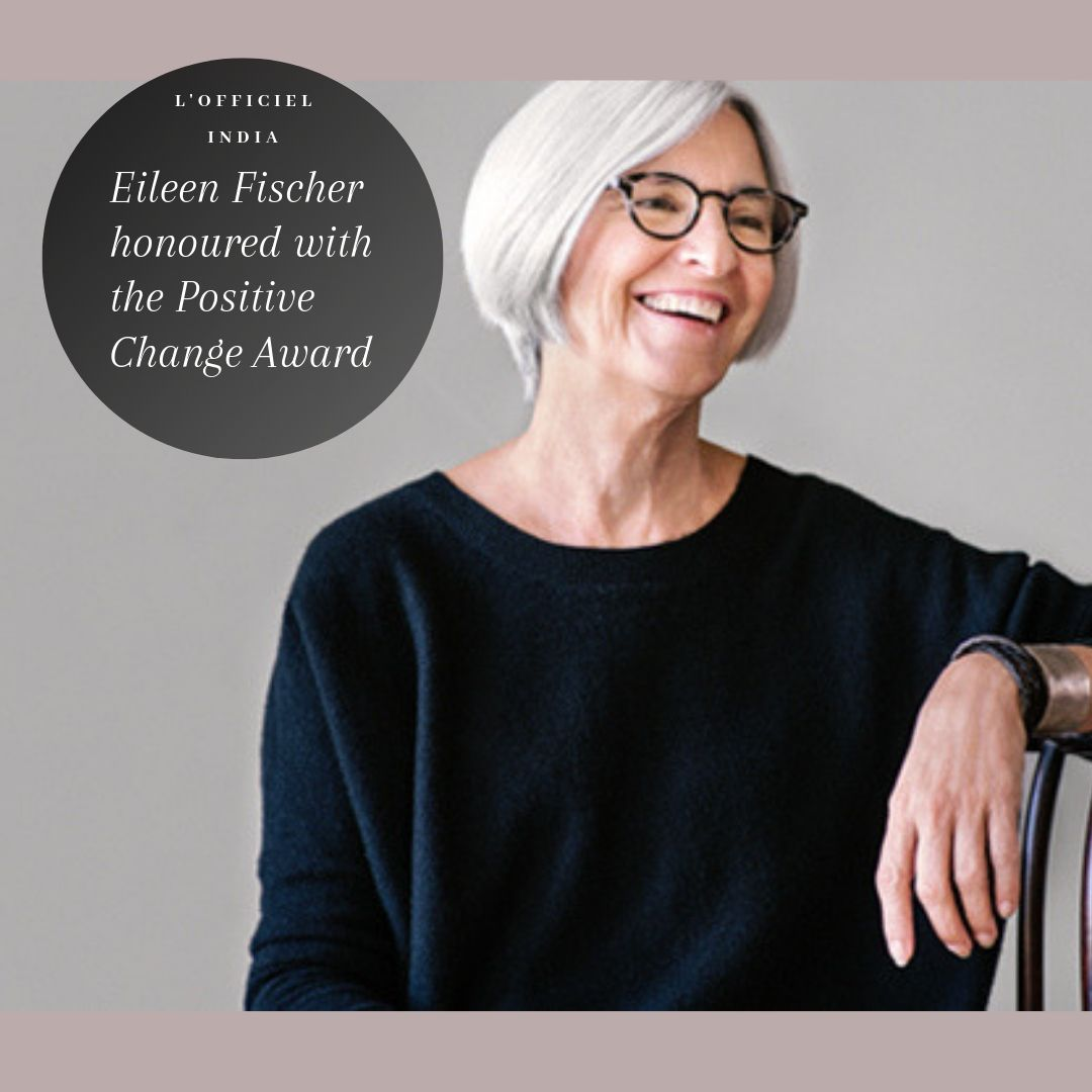 Fashion Designer Eileen Fischer honoured with the Positive Change Award at CFDA 2019.  #fashion #fashiondesigner #cfda2019 #cdfaawards #eileenfischer #luxury #luxurylifestyle #luxuryfashion #fashionbrand #luxuryfashionbrand #lofficiel #lofficielparis #lofficielindia