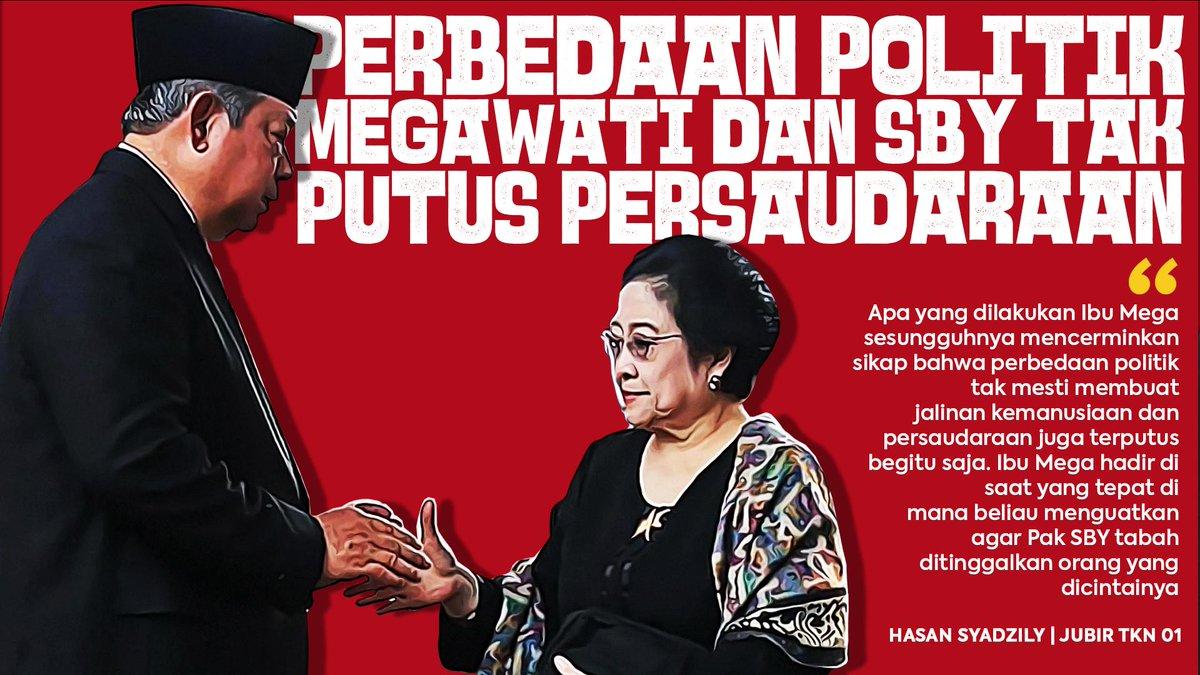 SBY sedang berduka. jangan kaitkan dengan politik. Bu Megawati memang negarawan sejati #TokohBangsa #ShameOnYouPrabowopic.twitter.com/FprSoWncyf