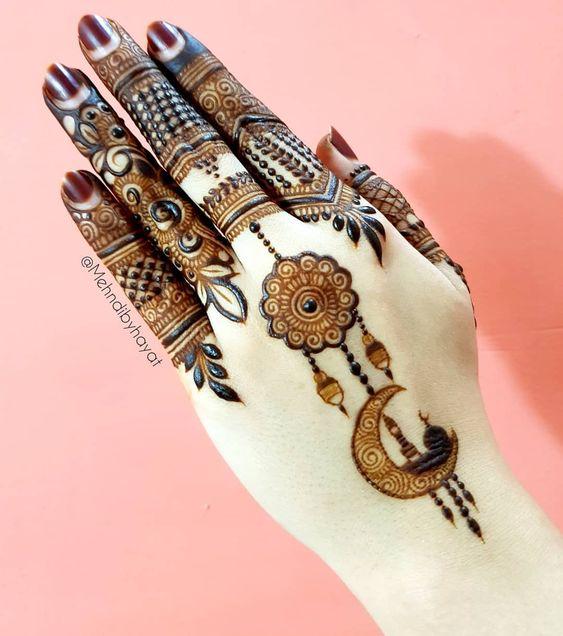 Eid Mehndi Design Pictures