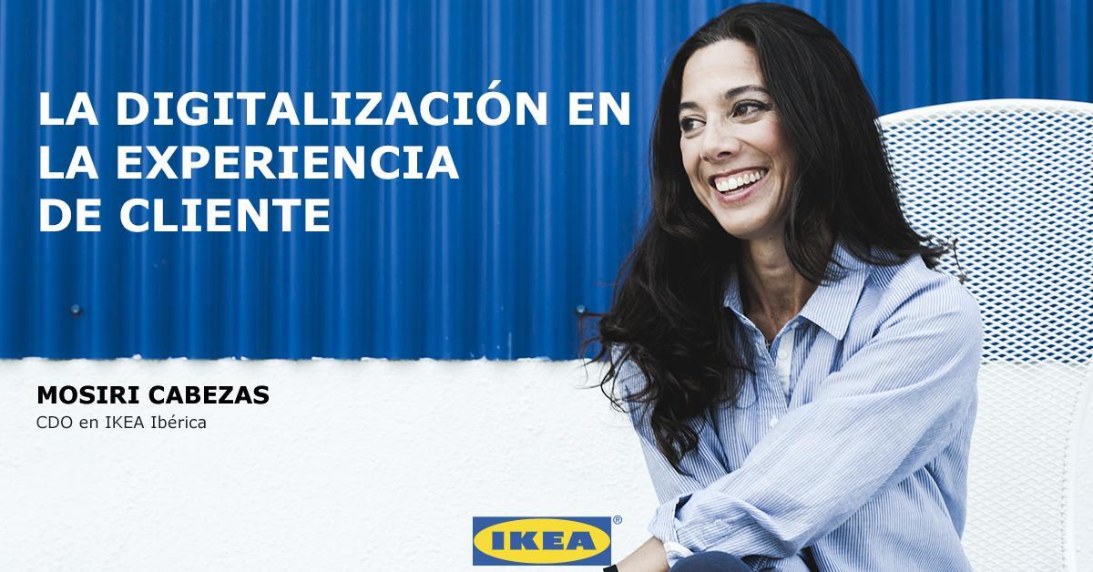 Hoy estamos en la presentación del informe de la @Asociacion_DEC hablando sobre tendencias en digitalización y consumo. ¿Cómo valora la experiencia digital el nuevo consumidor?  La responsable de transformación digital en IKEA España, @mosiri, contestará a esta y otras preguntas. https://t.co/Xv5ii7ul7J