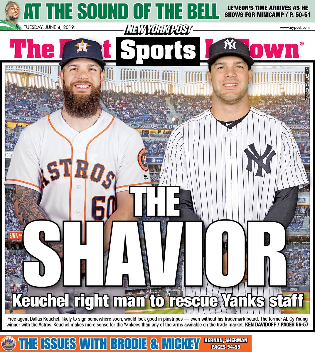 New York Post Sports's photo on #Yankees