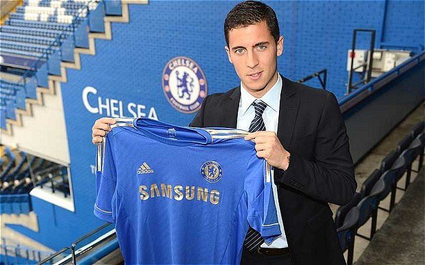 #OnThisDay in 2012, we signed Eden Hazard for £32m from Lille 🔵 #CFC