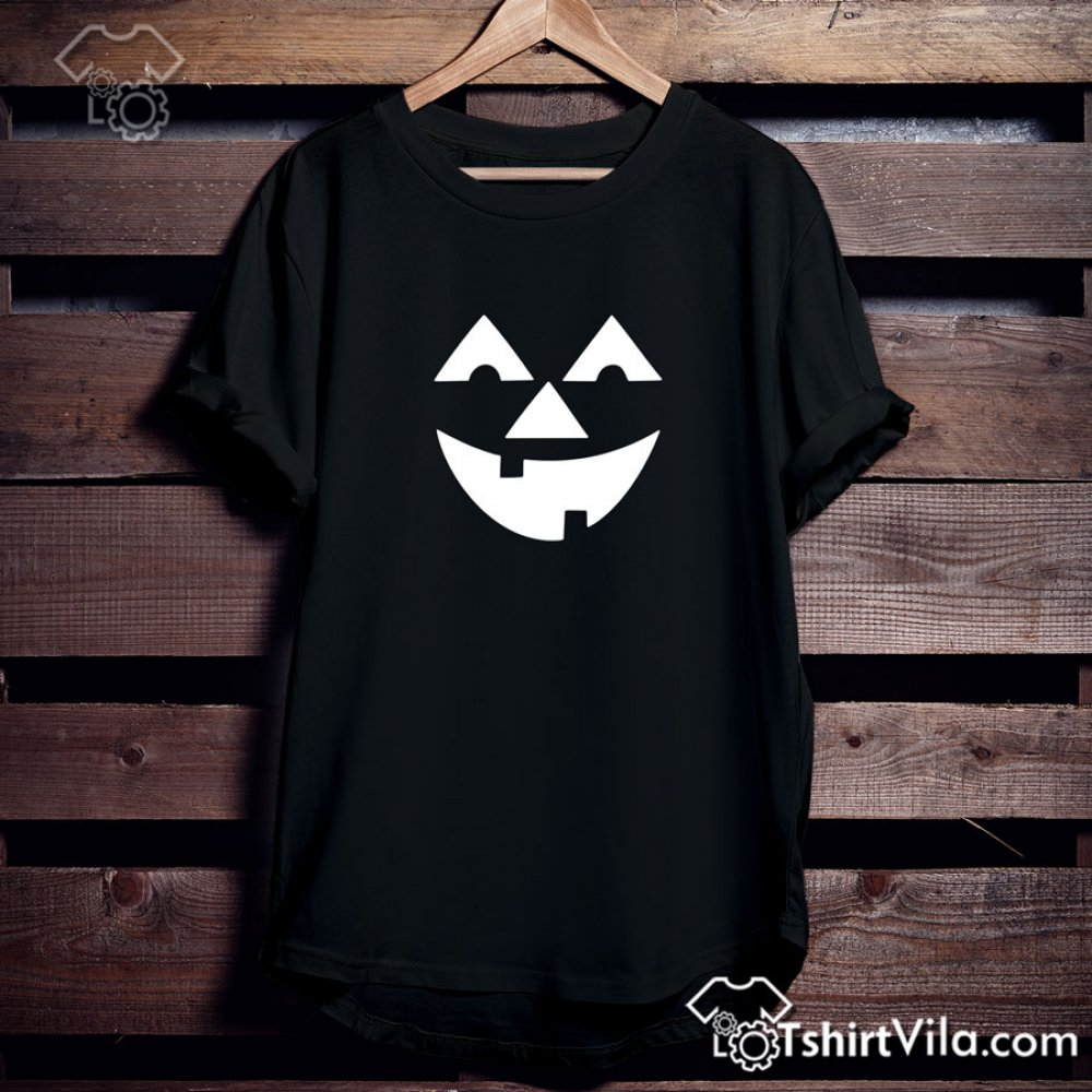 22187bb327c Happy Face Pumpkin Halloween Tshirt - Tshirt Adult Unisex Size S-3XL Tag a  friend