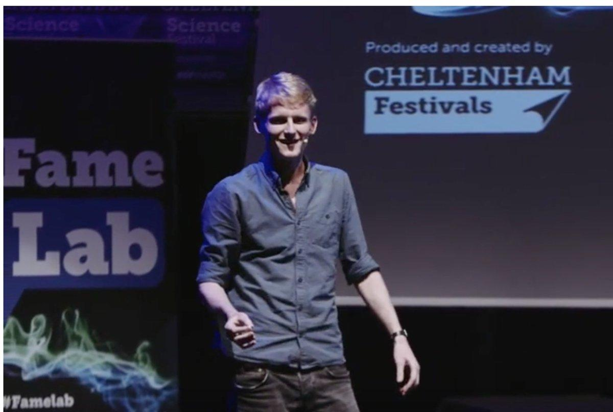 Huge Congratulations 🎉 to #ExeterMarine PhD student @TimACGordon who has won both the main prize AND the peoples vote @FameLab 2019 at @cheltfestivals. Against strong competition Tim wowed with his passion, fun and authority  1:06:30 here: http://bit.ly/TimGordanFameLab… @DrSteveSimpson