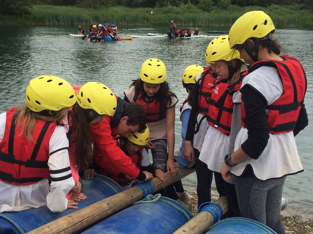 City Of London School For Girls On Twitter It S Raft Building Time For The Year 8s Who Will Be The Victors In The Final Race Teambuildingday Raftbuilding Stubberscentre Https T Co Muikx0bih9