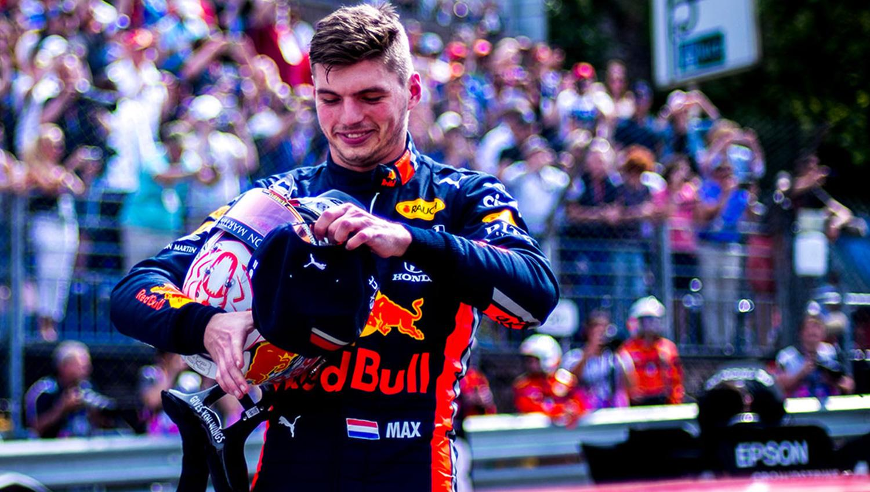 Verstappen en el GP de España   Fuente: Twitter - @redbullracing