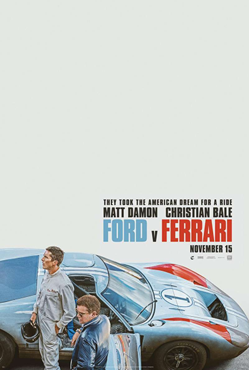 Quand Ford décida de construire une voiture de course pour battre Ferrari aux 24 heures du Mans. #LeMans66 raconte le duel Ford-Ferrari avec Matt Damon et Christian Bale. Assez hâte de voir ce prochain film de James Mangold.