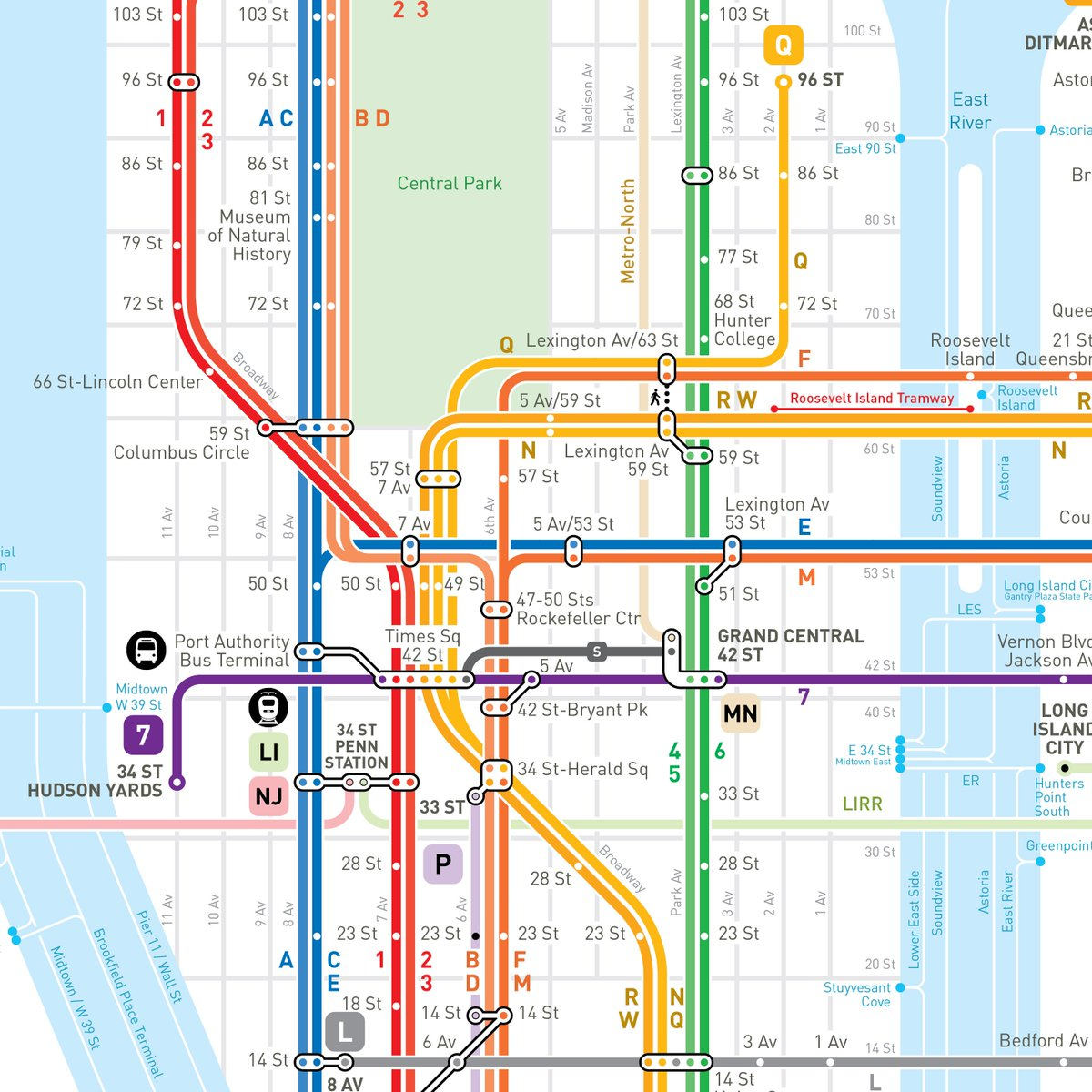 Queens Subway Map With Streets.Jug Cerovic On Twitter Nyc Subway Map Update The Artwork Is