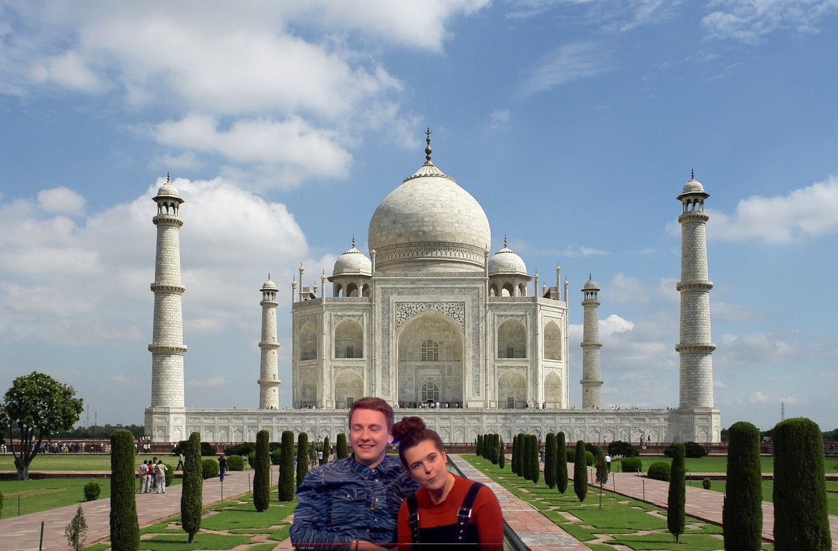Somebody leaked the pictures of mine and @joelycett's romantic trip to the Taj Mahal.