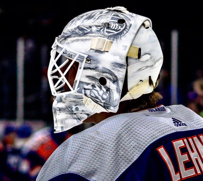 New York Islanders On Twitter Robinlehner S Mask Is Up For Best