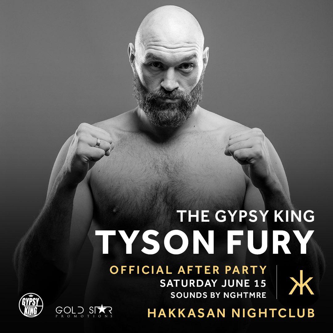TYSON FURY (@Tyson_Fury)